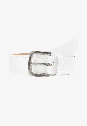 CINTURA - Belt - white