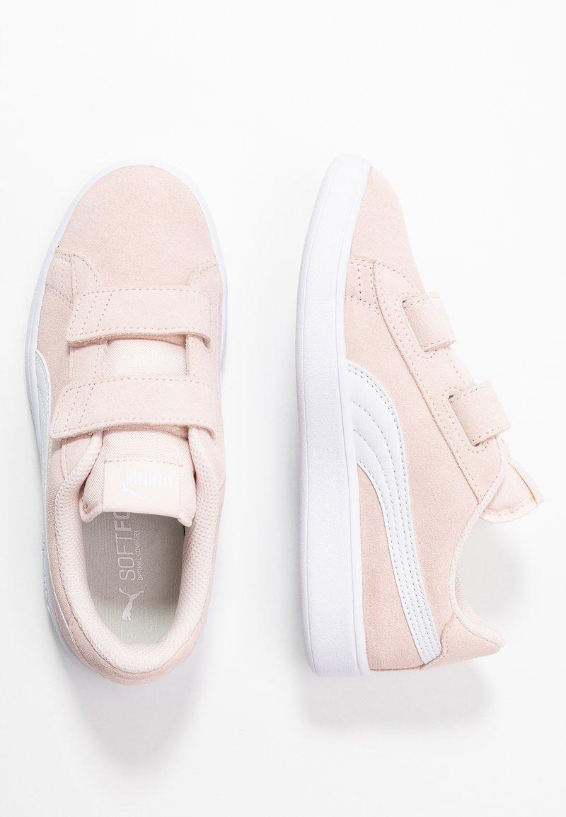 Puma - SMASH - Sneakers basse - rosewater/white