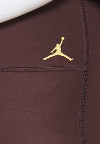 Jordan - ESSENTIAL - Leggings - Trousers - mahogany/gold - 5