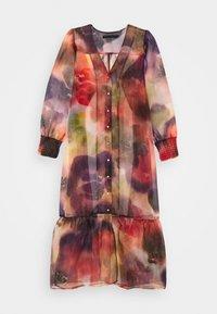 Karen by Simonsen - CELINA DRESS - Vestido camisero - dark red - 0