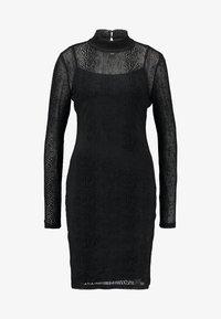 ONLY Tall - NMLESLY FLOCK DRESS - Etuikleid - black - 4