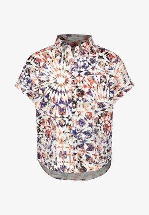 MIT FLORALEM DESSIN - Button-down blouse - rot/orange/blau multicolor