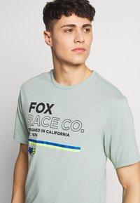 Fox Racing - ANALOG TECH TEE - T-Shirt print - light green - 4