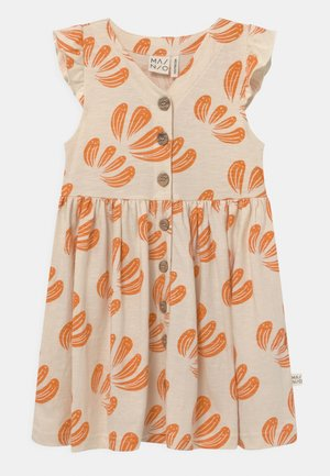 ANEMONE BUTTON  - Jersey dress - beige