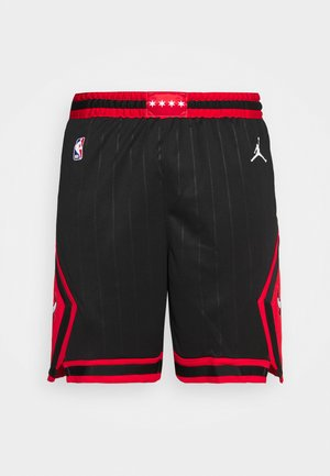 NBA CHICAGO BULLS STATEMENT SWINGMAN - Squadra - black/university red/white