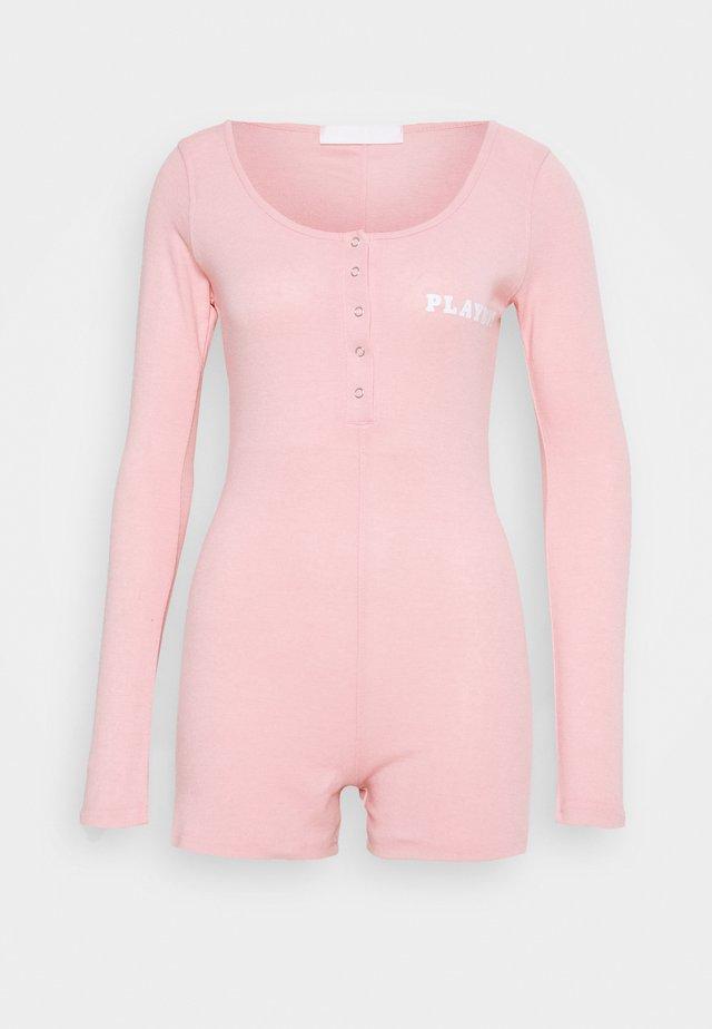 PLAYBOY PLAYSUIT - Pijama - pink