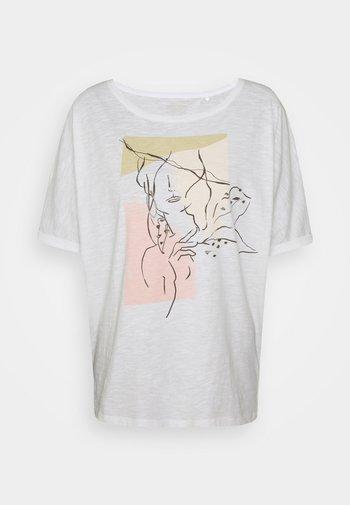 TEE PRINT - Print T-shirt - white