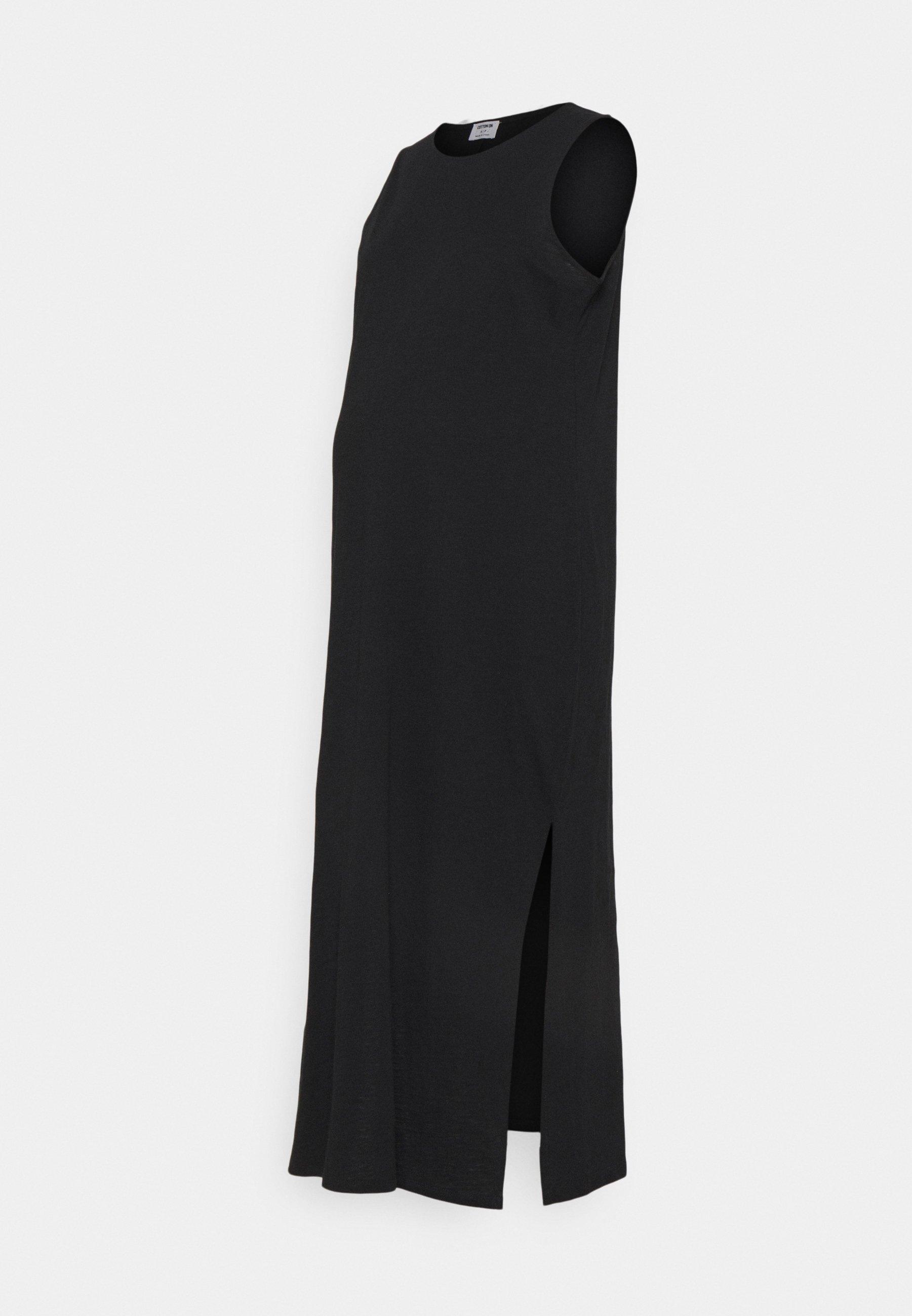 Women MATERNITY LOOSE FIT TANK DRESS - Jersey dress