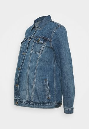 MATERNITY ICON JACKET  - Denim jacket - medium indigo