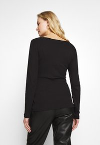 Anna Field - T-shirt à manches longues - black