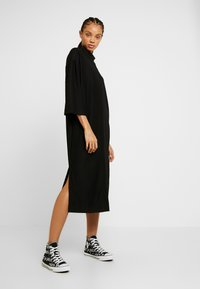 Monki - ARYA DRESS - Jerseykjole - black dark unique - 2