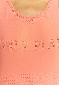 ONLY Play - ONPMUNO TRAIN  - Topper - neon orange - 5