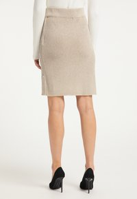faina - Pencil skirt - beige - 2
