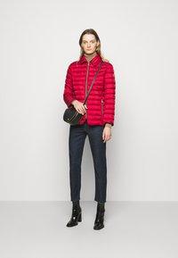 Lauren Ralph Lauren - MATTE FINISH SHORT JACKET - Light jacket - red - 1