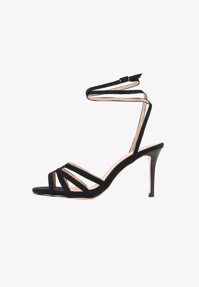 MARTINI - Sandalen met hoge hak - black