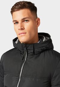 TOM TAILOR - MIT KAPUZE - Winter jacket - black - 3