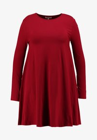 Zalando Essentials Curvy - Jersey dress - red - 3
