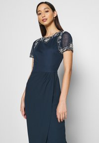 Lace & Beads - FREYA WRAP MAXI - Occasion wear - navy - 6