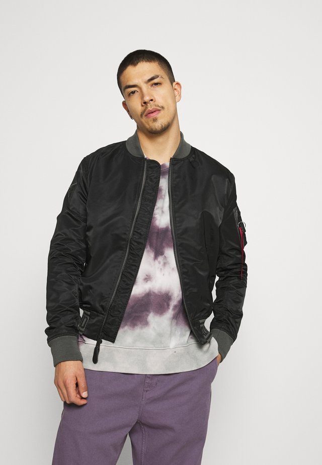 Bomber Jacket - black/grey black