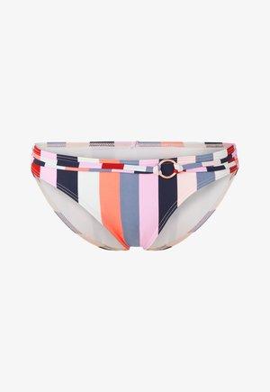 CRUZ - Bikini bottoms - mottled red
