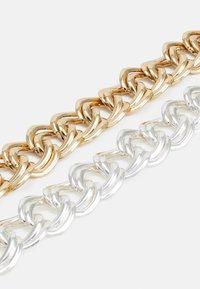 Monki - JENNA NECKLACE 2 PACK - Collana - silver-coloured/gold-coloured - 2