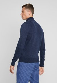 Pier One - Jumper - mottled dark blue - 2