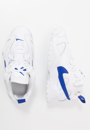 AIR BARRAGE - Trainers - white/hyper blue