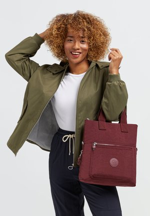 Handbag - intense maroon