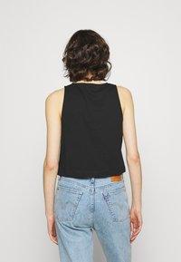 Calvin Klein Jeans - TONAL MONOGRAM TANK - Top - black - 2