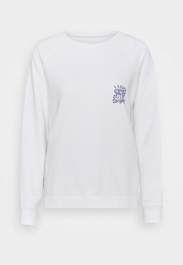 LARIMER  - Sweatshirt - optic white