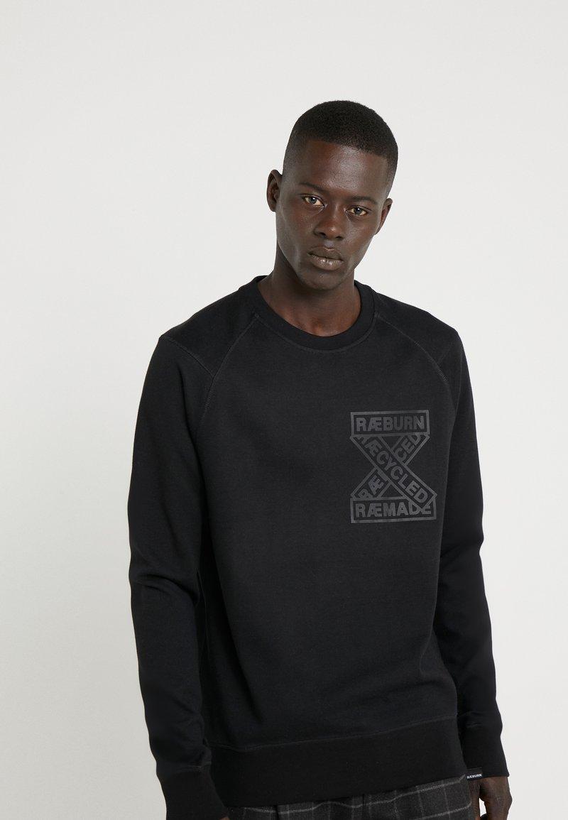 Raeburn - CREW - Sweatshirts - black