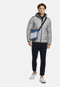 TOM TAILOR DENIM - LIGHTWEIGHT JACKET - Light jacket - dark grey printed melange - 1
