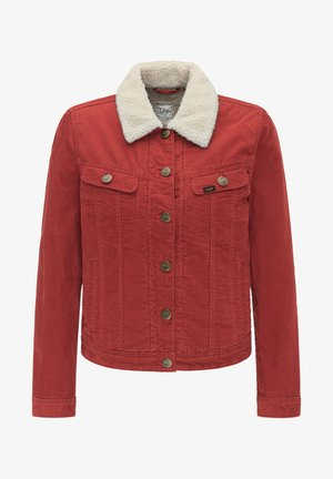 SHERPA RIDER - Light jacket - red ocre