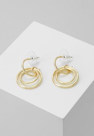 LIO SMALL PENDANT EAR PLAIN  - Pendientes - gold-coloured