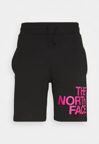 The North Face - GRAPHIC - Kraťasy - black/pink - 0