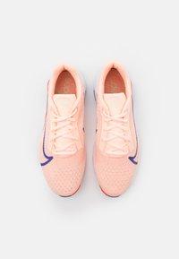 Nike Performance - ZOOMX SUPERREP SURGE - Sports shoes - crimson tint/concord/team orange/crimson bliss/white/lime glow - 3