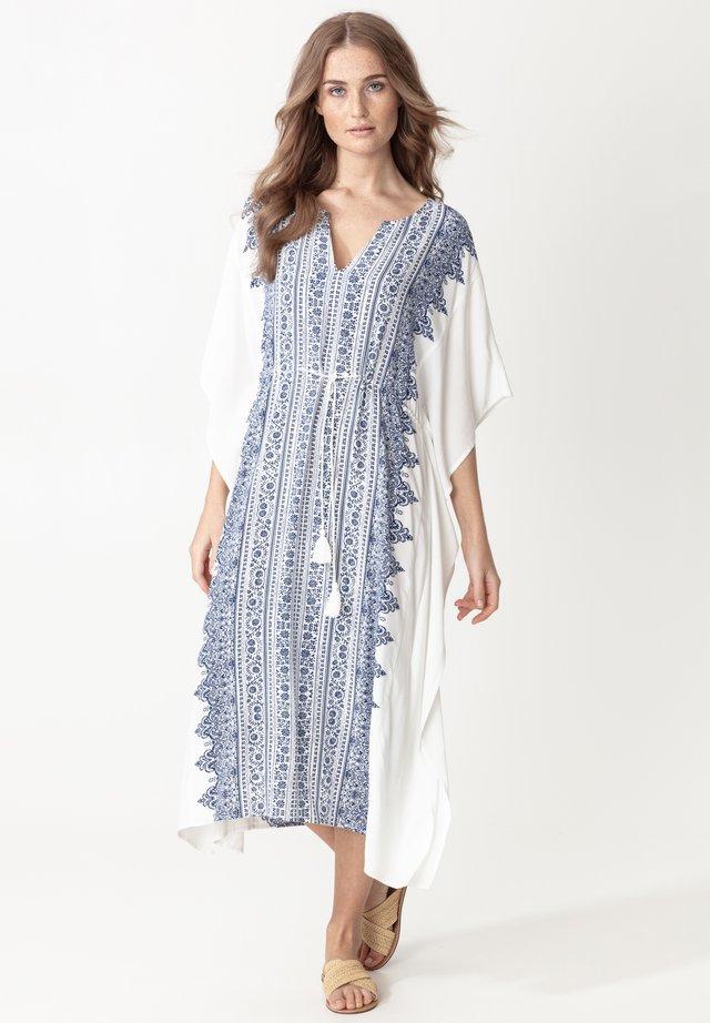 KAFTAN LINDA - Robe d'été - blue