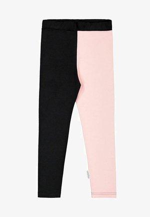 2-COLOR - Leggings - Trousers - black/romance pink
