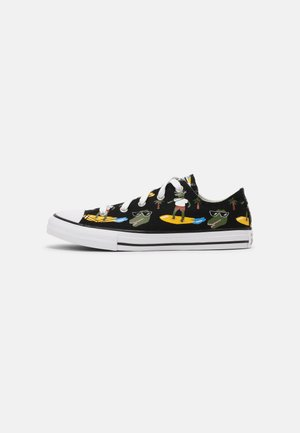 CHUCK TAYLOR ALL STAR OX UNISEX - Zapatillas - black/multi/white