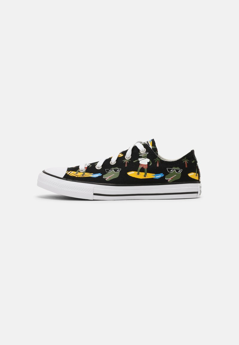 Converse - CHUCK TAYLOR ALL STAR OX UNISEX - Sneakers laag - black/multi/white