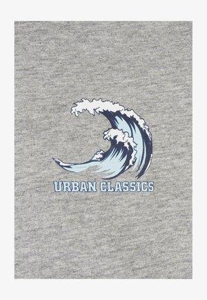 BIG WAVE - Camiseta estampada - grey