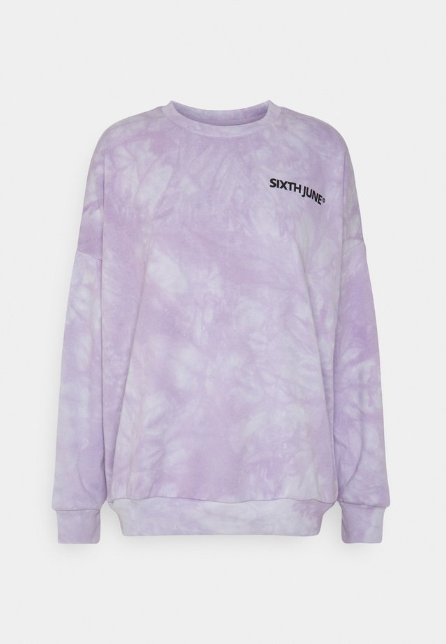 TIE DYE  - Sweatshirt - purple