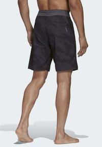 adidas Performance - PRIMEBLUE CLX SHORTS - Swimming trunks - black - 1