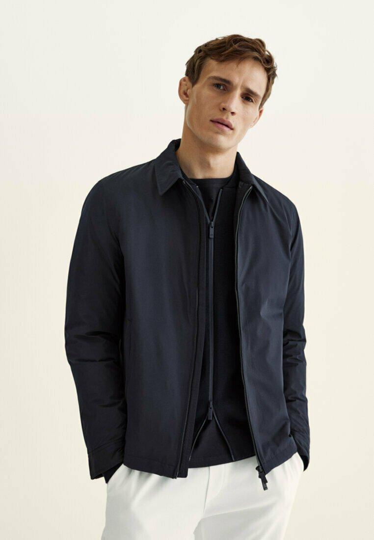 Massimo Dutti - Summer jacket - dark blue