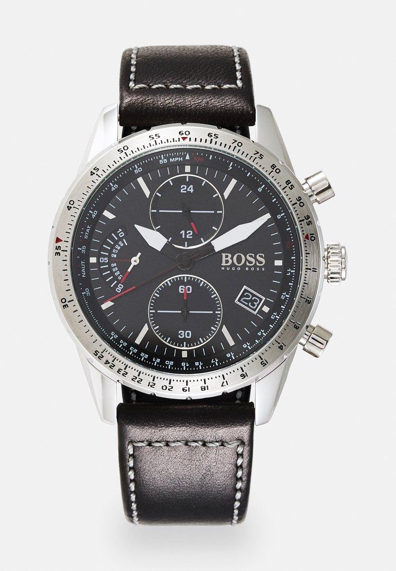 BOSS - PILOT EDITION - Chronograph watch - black