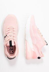 Kappa - DOOLIN - Sports shoes - rosé/black - 1