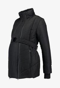 LOVE2WAIT - COAT DOUBLE ZIPPER PADDED - Winter jacket - black - 3