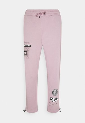 PRINTED BUNGY  - Tracksuit bottoms - lilac