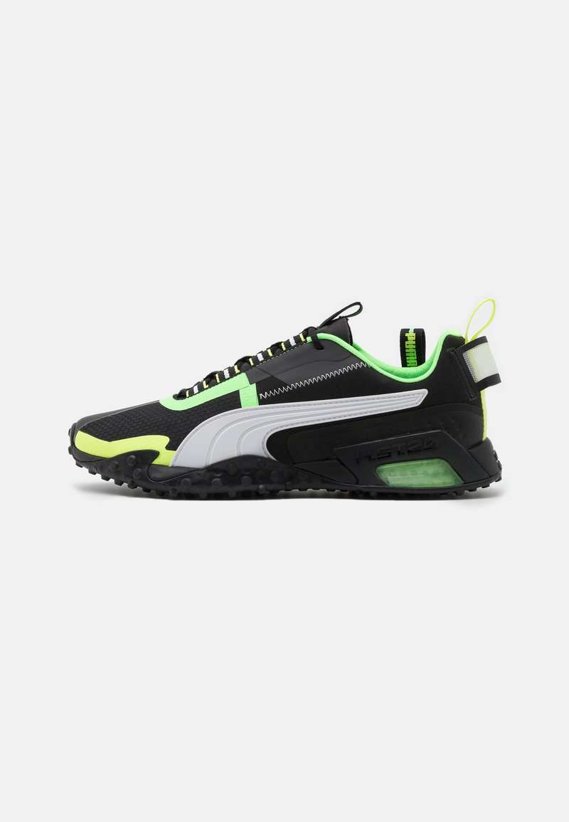 Puma - H.ST.20 KIT 2 UNISEX - Neutral running shoes - black/white/elektro green