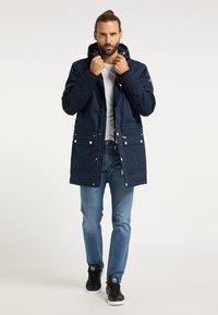 ICEBOUND - Winter coat - marine - 1